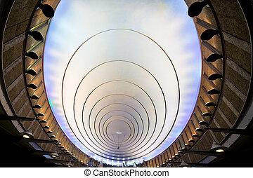 Contemporary Illuminated Ceiling
