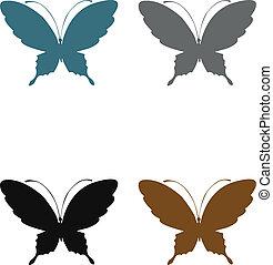 Butterflies terra