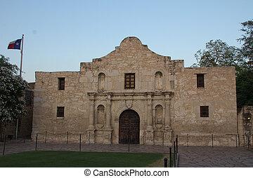 Alamo at Dusk