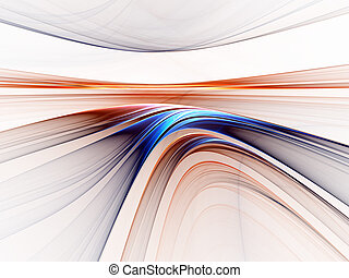 colorful horizon - Abstract illustration of colorful horizon...
