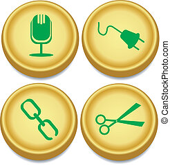 golden buttons 2