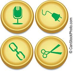 golden buttons 2