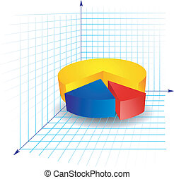 color diagram with segments on a white background