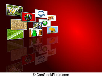 multimedia background