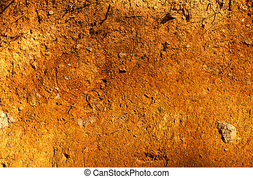 Red Soil Texture - Textures And Backgrounds - Organic - Red...