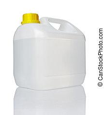 branca, galão, Recipiente, água