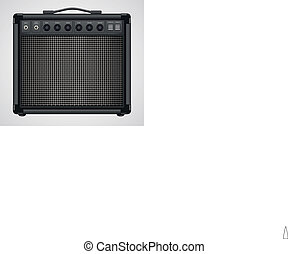 Guitar Combo Amplifier Vector