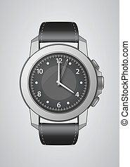 Wrist Watch  - Vector Wrist Watch Illustration