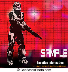 Space Marine, Science Fiction Flyer - Science Fiction Flyer,...
