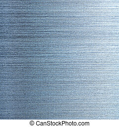 metal - Light blue brushed aluminum texture