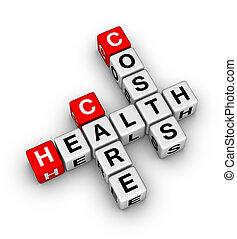 健康, 心配, コスト
