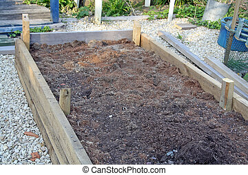 rised beds - on an allotment