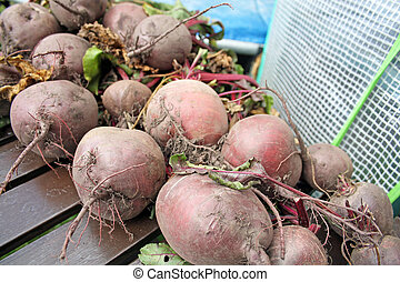 home grown beetroot