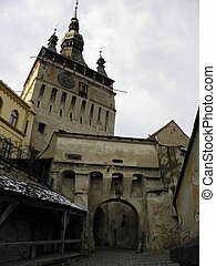 dracula castle - sighisoara citadel