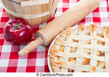 All American Apple Pie - Delicious homemade apple pie...