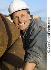 happy construction worker - happy construction worker...