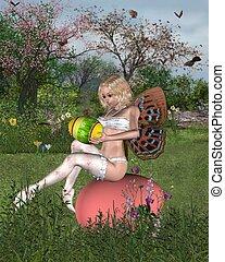 Easter Garden Fairy