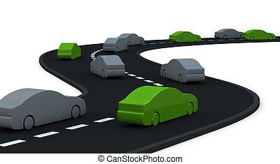 carros,  zero, algum, poluição