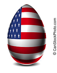 USA Easter egg
