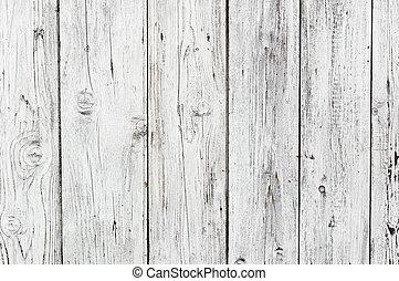 branca, madeira, textura, fundo