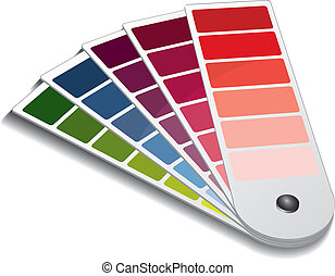 Pantone color guide