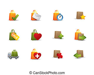E-commerce box icons