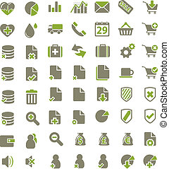 web, office, media, buisness icons