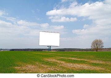 billboard in spring field
