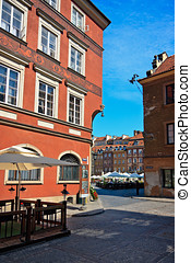 Warsaw's Old Town Streets