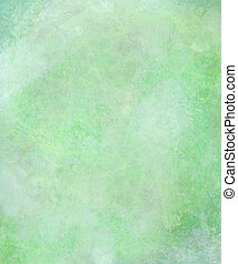Watercolor Washed Textured Abstract Background in Green