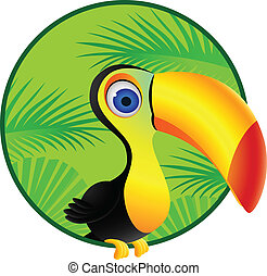 Toucan cartoon