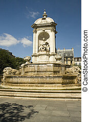 Saint Sulpice fountain