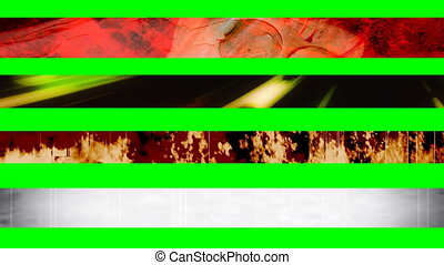 Four Abstract Looping L3rds X2244 - Four Abstract Looping...