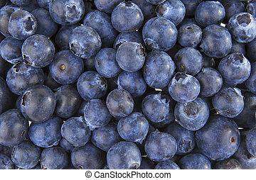 Blueberries background - Organic blueberries background