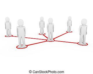 3d men network social