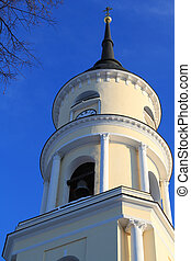 Belltower. An orthodox cathedral. Photo made with Canon 500d...