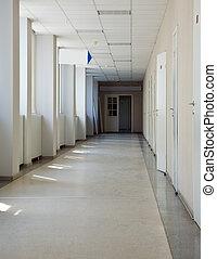 辦公室, 走廊