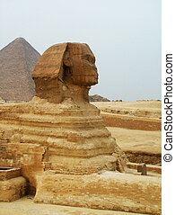 The Sphinx at Giza Egypt