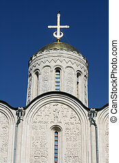 Dmitrievsky cathedral in Vladimir Russia