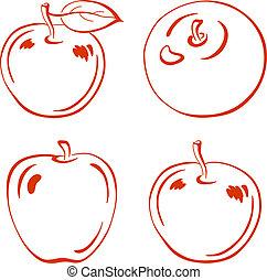 Apple, pictogram