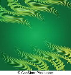 grass a cascade - fan subgroup grass cascade on a green...