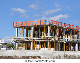 Novo, construção