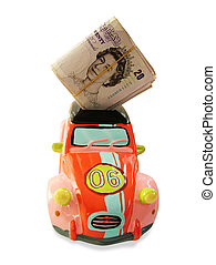 Money box car