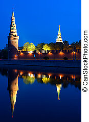 Moscow Kremlin - Russia The Moscow Kremlin in the morning