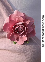 Handmade brooch from glay - Handmade brooch rose from glay...