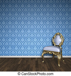 baroque room - An image of a nice baroque room