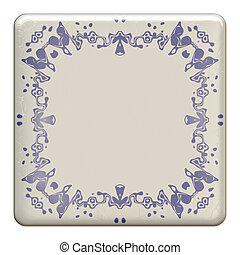 delft tile - An image of a nice delft tile