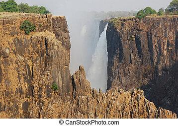 Victoria Falls D - The famous Victoria Falls