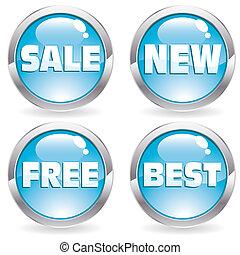 Set sale button