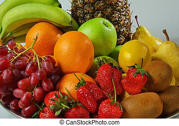 生活, 仍然, 水果